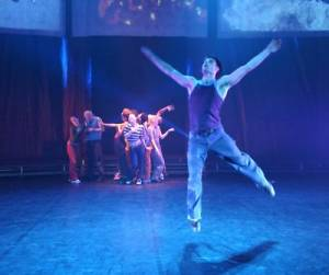 DanceArts Vancouver production of FIRE where there's smoke - David Cooper photo