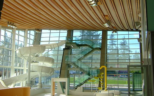 Aquatic Centre interior