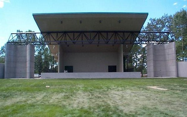 New stage at Princes Island Park
